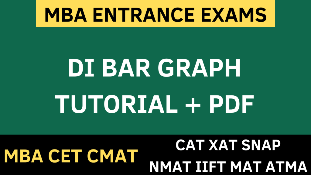 BAR graph data interpretation uot mba