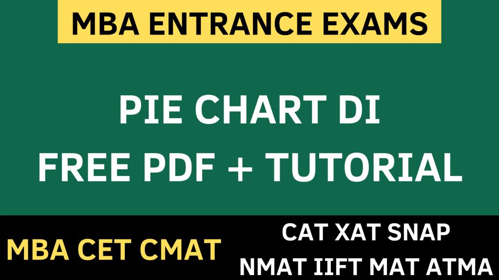 PIE CHART data interpretation uot mba