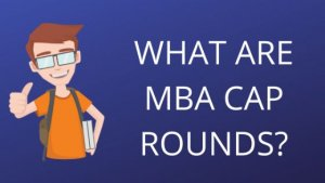 MBA CET 2020 CAP Rounds