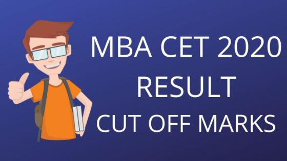 MBA CET 2020 RESULT