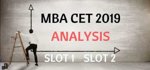 analysis of mba cet 2019