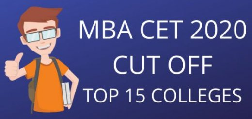 mba cet cut off data