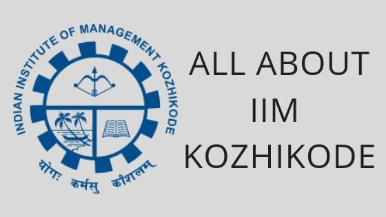 Photo of All about IIM Kozhikode