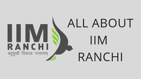IIM RANCHI FEES