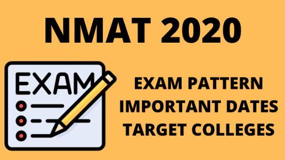 NMAT BY GMAC 2020 uot mba