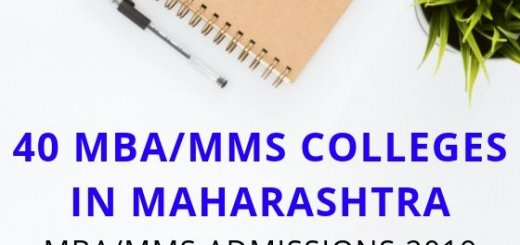 40 MBA MMS Colleges in Maharashtra