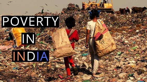 POVERTY IN INDIA REASONS