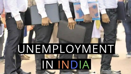 UNEMPLOYMENT IN INDIA FACTS