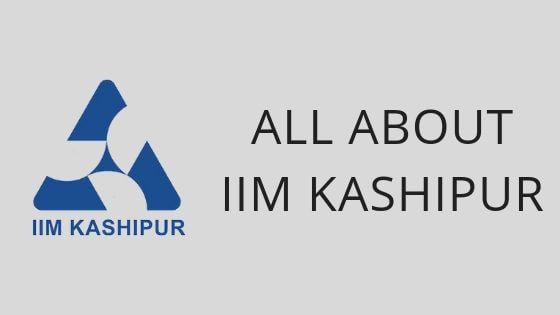 IIM KASHIPUR FEES