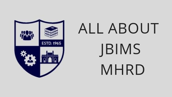 JBIMS MHRD ADMISSION PROCESS