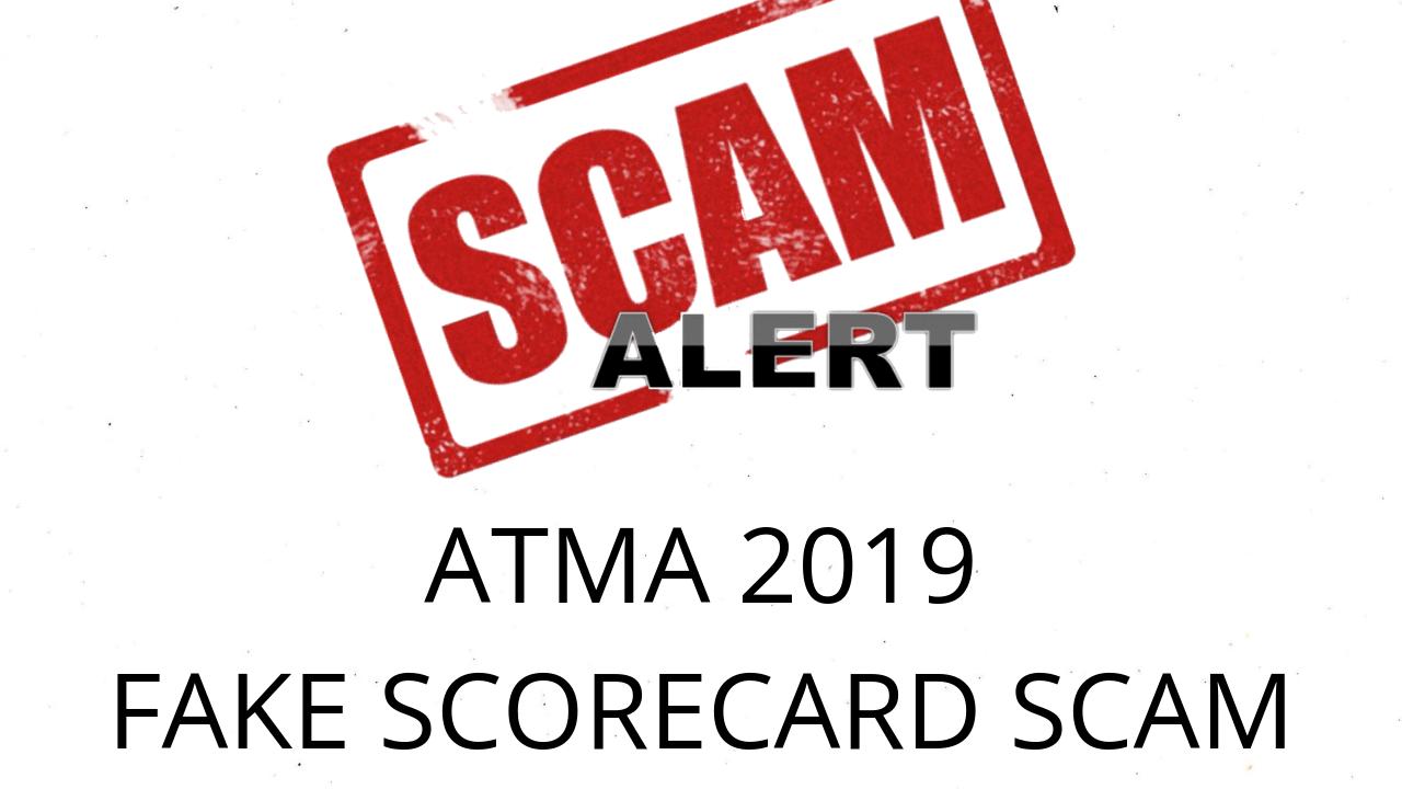 ATMA SCAM 2019