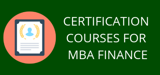 CERTIFICATION COURSES FOR MBA finance