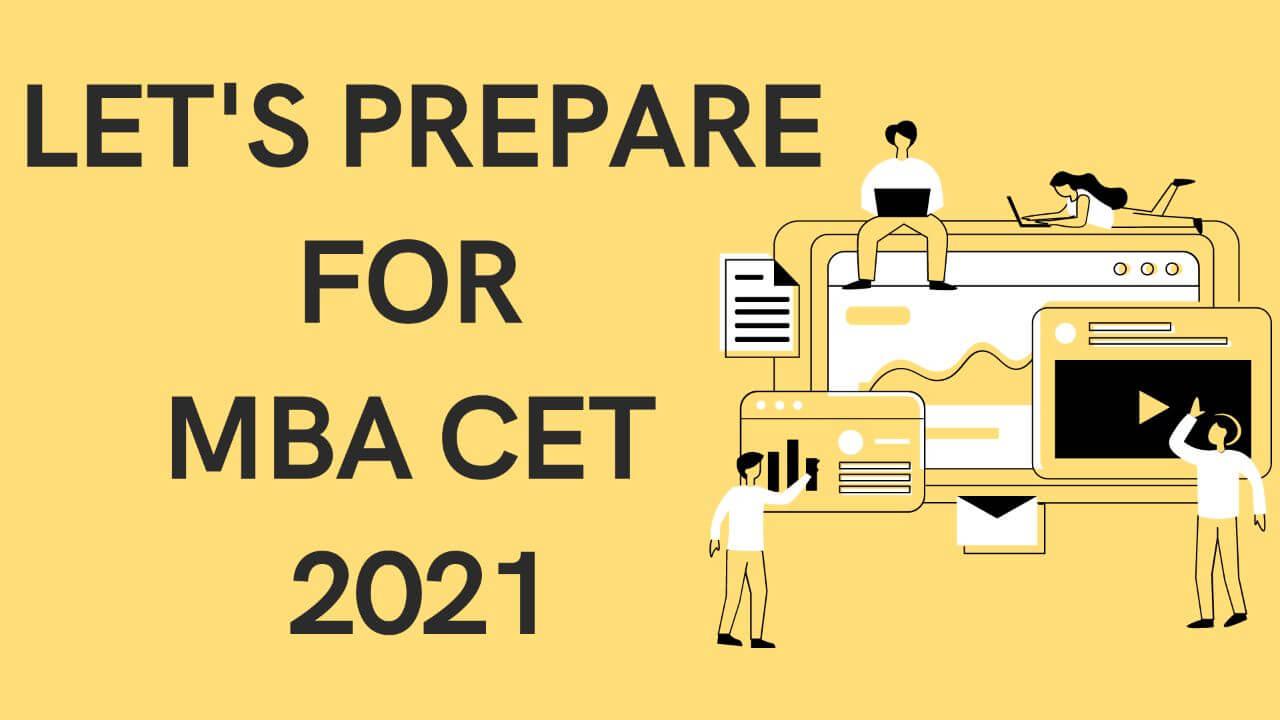 MBA CET 2021 preparation guide