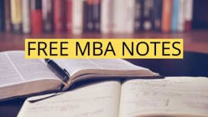 MBA Study Material 2019 | Free PDF Download – UOT MBA