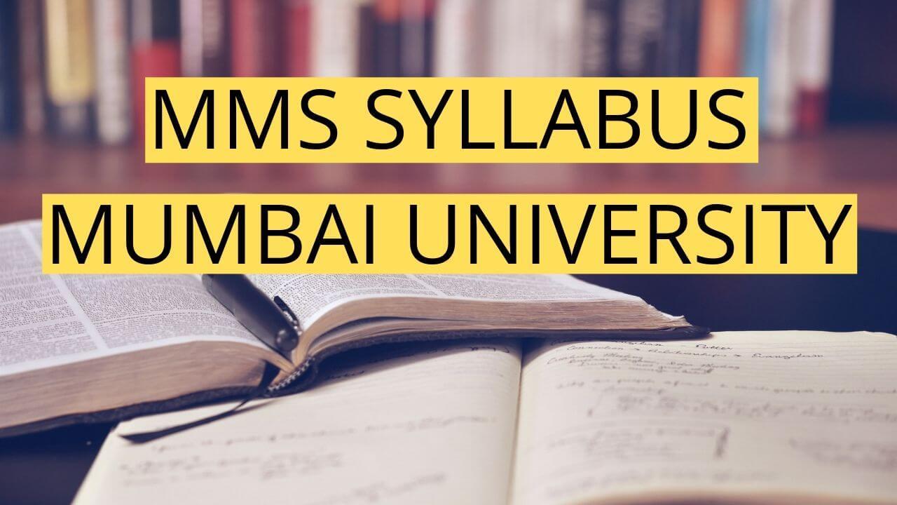 mms syllabus mumbai university