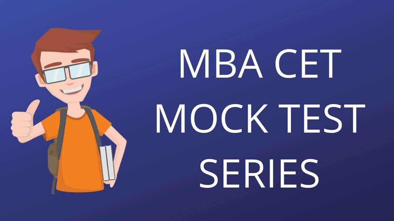 MBA CET MOCK TEST SERIES