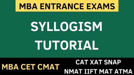 MBA CET SYLLOGISM uotmba