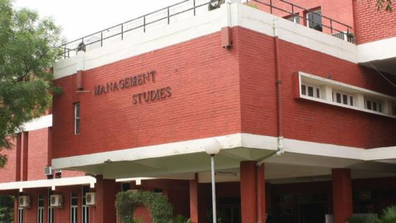 FMS Delhi UOT MBA