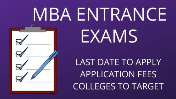 Photo of MBA Entrance Exams 2019-2020