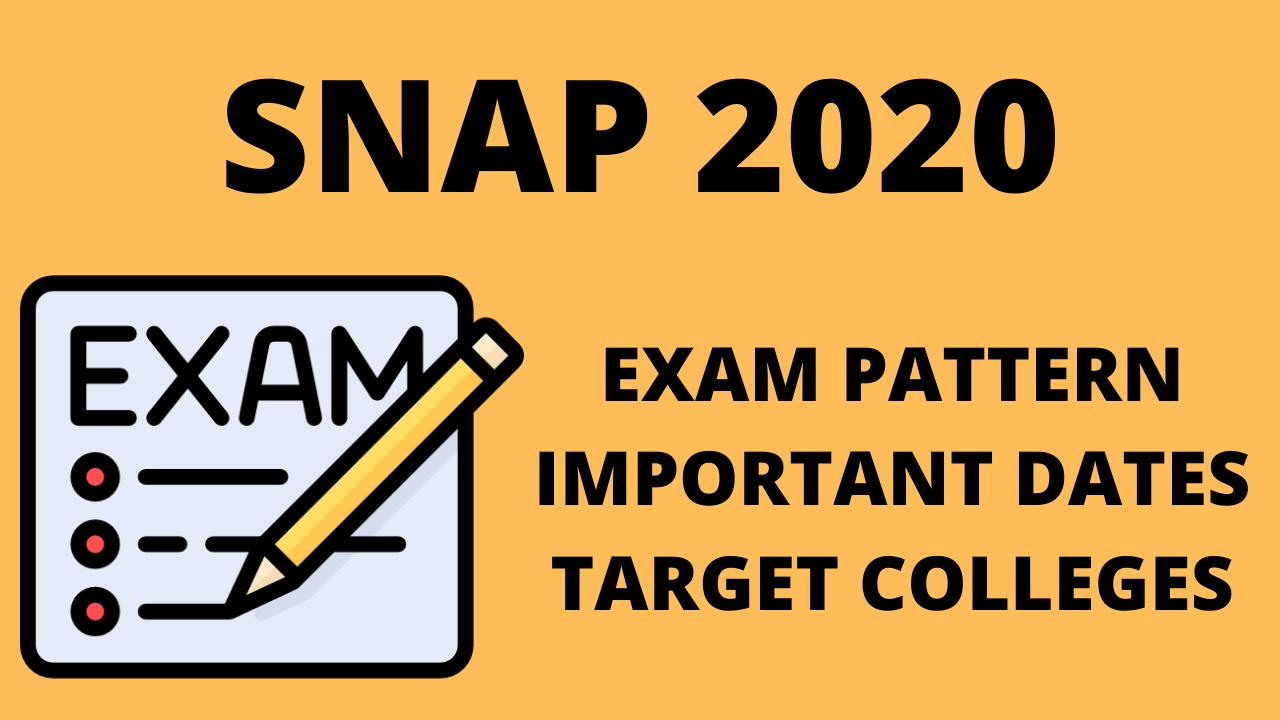 SNAP 2020 uot mba