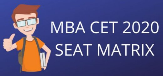 Seat matrix mba cet admissions