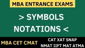 inequalities symbols notations uot mba