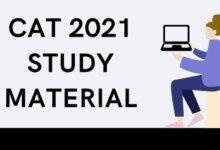 CAT 2021 study material