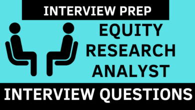 Equity Analyst Interview Questions