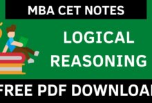 MBA CET LR Notes