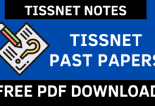 TISSNET Past Papers